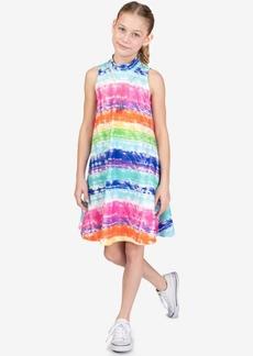 Bonnie Jean Big Girls Rainbow Tie-Dyed A-Line Dress