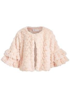 Bonnie Jean Big Girls Ruffled Faux-Fur Jacket