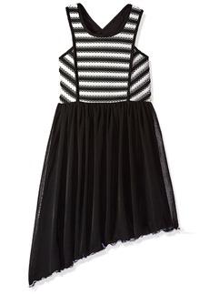 Bonnie Jean Big Girls' Sleeveless Asymetrical Party Dress