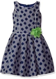 Bonnie Jean Big Girls' Sleeveless Princess Seam Party Dress  8