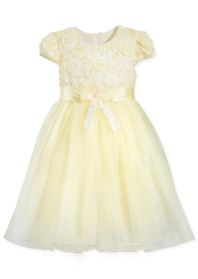 eb55bf98f2e3 Bonnie Jean Bonnie Jean Floral Ballerina Dress
