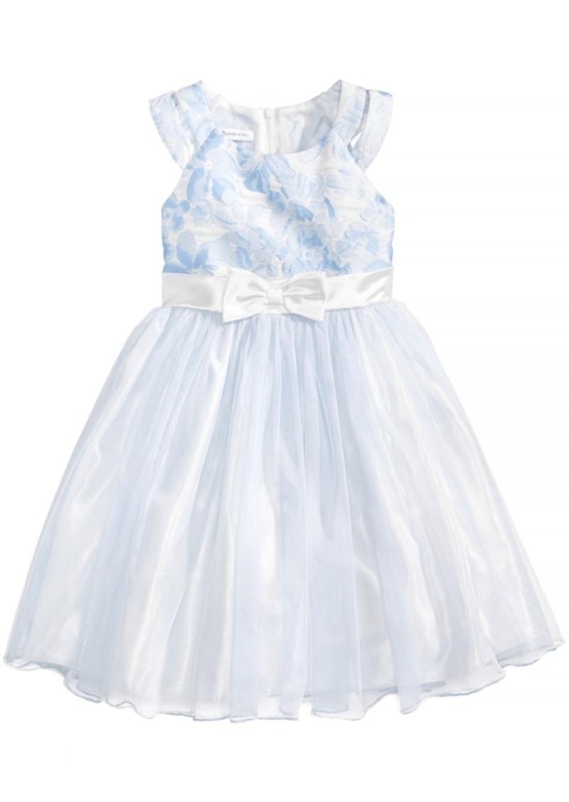 6947fb440bd Bonnie Jean Bonnie Jean Floral Brocade Ballerina Dress, Little Girls ...
