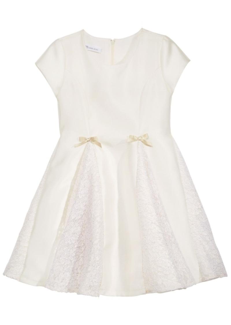 273791a2243 On Sale today! Bonnie Jean Bonnie Jean Foil-Lace Satin Party Dress ...