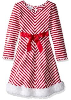 Bonnie Jean Big Girls' Santa Dresses