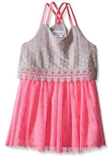 Bonnie Jean Little Girls' Novelty Popover Dress