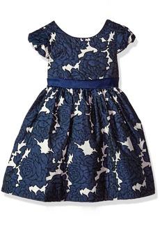 Bonnie Jean Little Girls' Brocade Party Dress