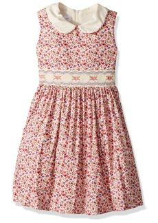 Bonnie Jean Little Girls' Collared Cotton Dress