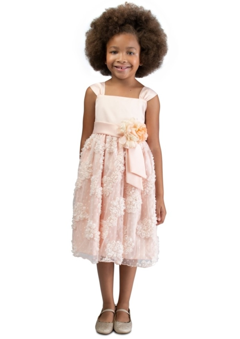 Bonnie Jean Little Girls Embellished Midi Dress