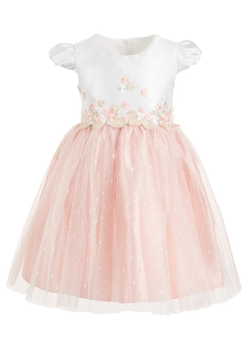 Bonnie Jean Toddler Girls Embroidered Ballerina Dress