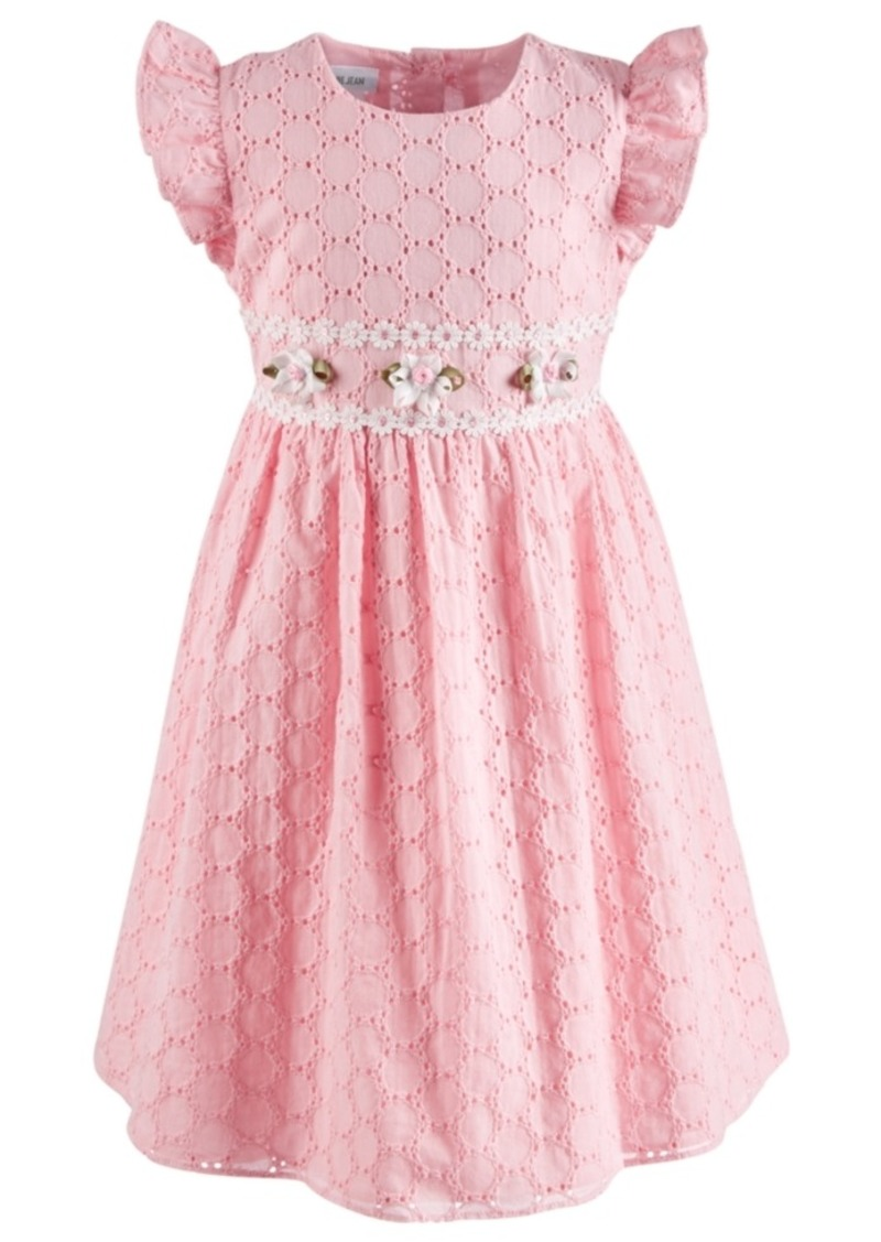 Bonnie Jean Toddler Girls Eyelet Dress