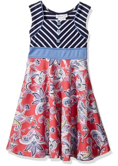 Bonnie Jean Little Girls' Fit and Flare Fashion Dress