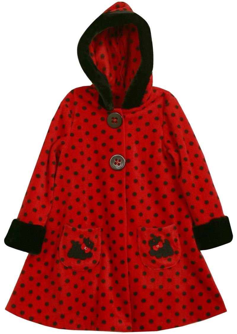 Bonnie Jean Little Girls'  Fleece Coat