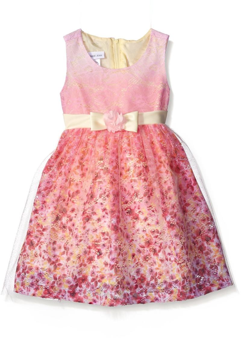 f81eb16ad3f Bonnie Jean Bonnie Jean Little Girls Sleeveless Party Dress