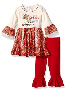 Bonnie Jean Little Girls' Holiday Dress and Legging Set  6X