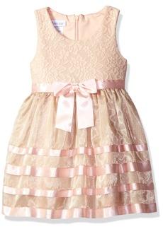 Bonnie Jean Little Girls Sleeveless Party Dress