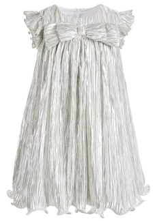 Bonnie Jean Little Girls Metallic Boudre Dress