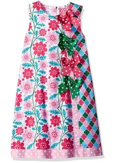 Bonnie Jean Little Girls' Printed Cotton Aline Sundress