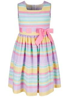 Bonnie Jean Toddler Girls Striped Ribbon-Waist Dress
