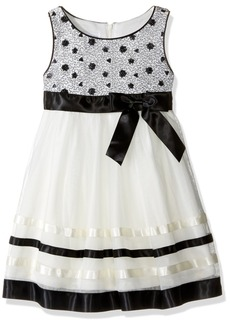 Bonnie Jean Little Girls' Ribbon Organza Dress