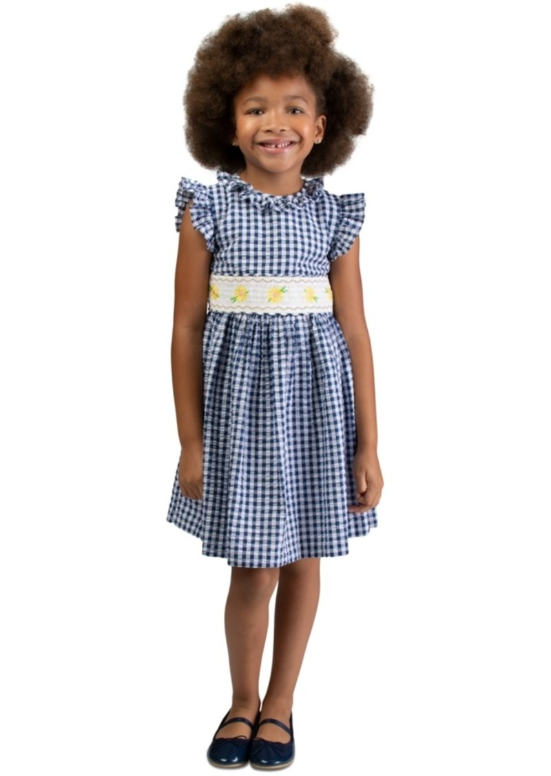 Bonnie Jean Toddler Girls Seersucker Daisy Dress