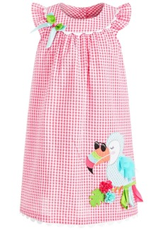 Bonnie Jean Little Girls Seersucker Toucan Dress