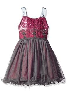 Bonnie Jean Little Girls' Sequin Bodice Tulle Party Dress