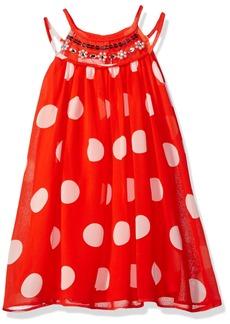 Bonnie Jean Little Girls' Sleeveless a-Line Trapeze Party Dress