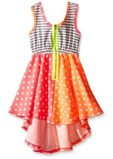 Bonnie Jean Little Girls' Sleeveless Hi-Low Dress
