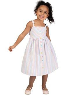 Bonnie Jean Toddler Girls Striped Seersucker Dress