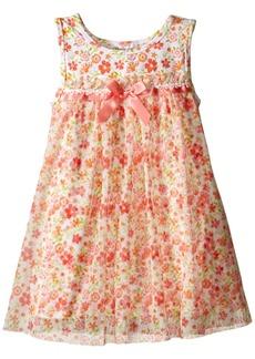 Bonnie Jean Toddler Girls' Knit Float Dress.