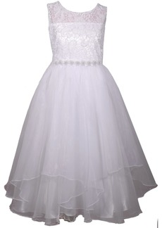 Bonnie Jean Organza Petal Communion Dress