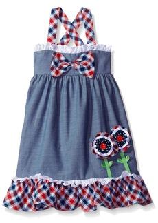 Bonnie Jean Toddler Girls' Chambray Dress
