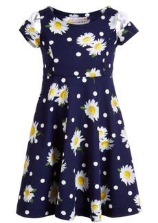 Bonnie Jean Toddler Girls Daisy & Dot Skater Dress