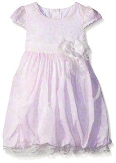 Bonnie Jean Little Girls' Toddler Floral Clipdot Dress