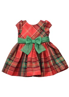 Bonnie Jean Toddler Girls Plaid Waistline Dress