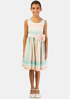 Bonnie Jean Toddler Girls Striped Bow Dress