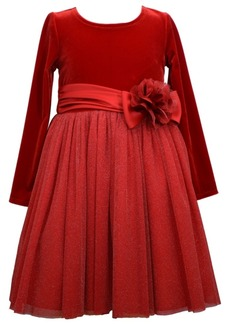 Bonnie Jean Toddler Girls Mesh Tutu Dress