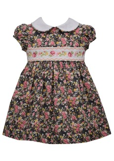 Bonnie Jean Toddler Girls Floral Ditsy Print Woven Dress
