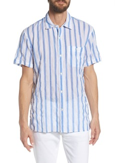Bonobos Beach Slim Fit Stripe Sport Shirt