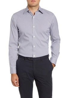 Bonobos Buckland Trim Fit Stretch Check Dress Shirt