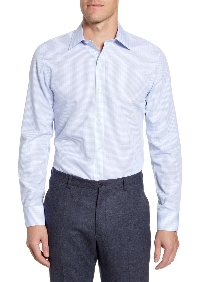 Bonobos Caleb Trim Fit Check Dress Shirt