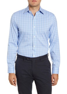 Bonobos Corby Slim Fit Stretch Plaid Dress Shirt