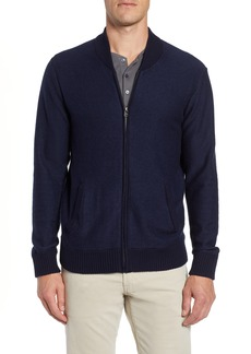Bonobos Cotton & Cashmere Bomber Sweater