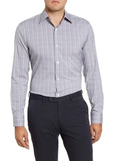 Bonobos Crewe Slim Fit Plaid Stretch Dress Shirt