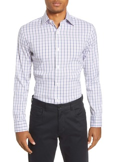 Bonobos Ezra Slim Fit Stretch Plaid Dress Shirt