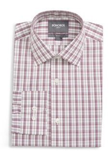 Bonobos Jetsetter Slim Fit Stretch Plaid Dress Shirt