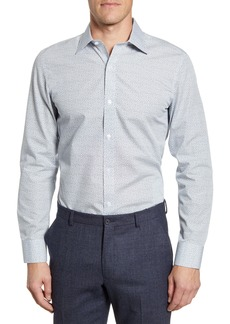 Bonobos Lucky Clover Trim Fit Dress Shirt