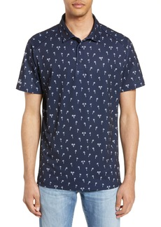 Bonobos M-Flex Flatiron Slim Fit Palm Print Polo