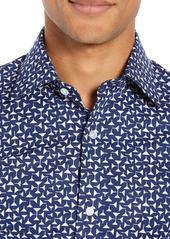 Bonobos Jetsetter Martini Slim Fit Print Dress Shirt