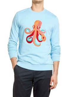 Bonobos Men's Chenile Octopus Sweatshirt